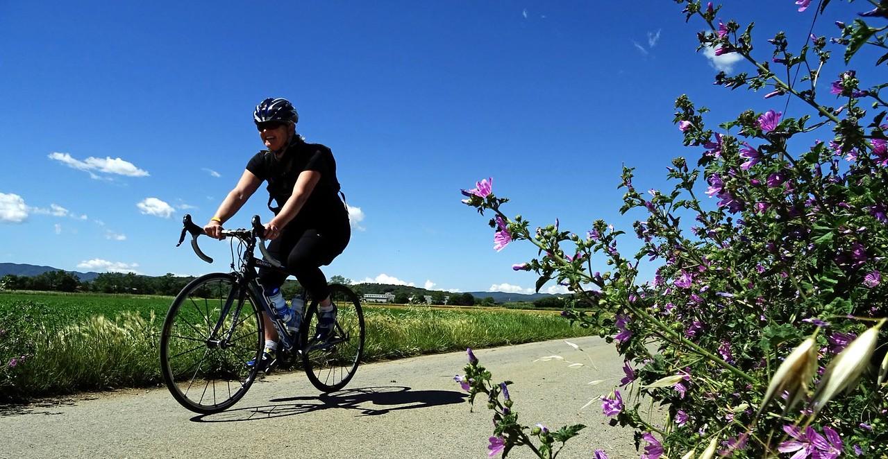 cycling girona countryside