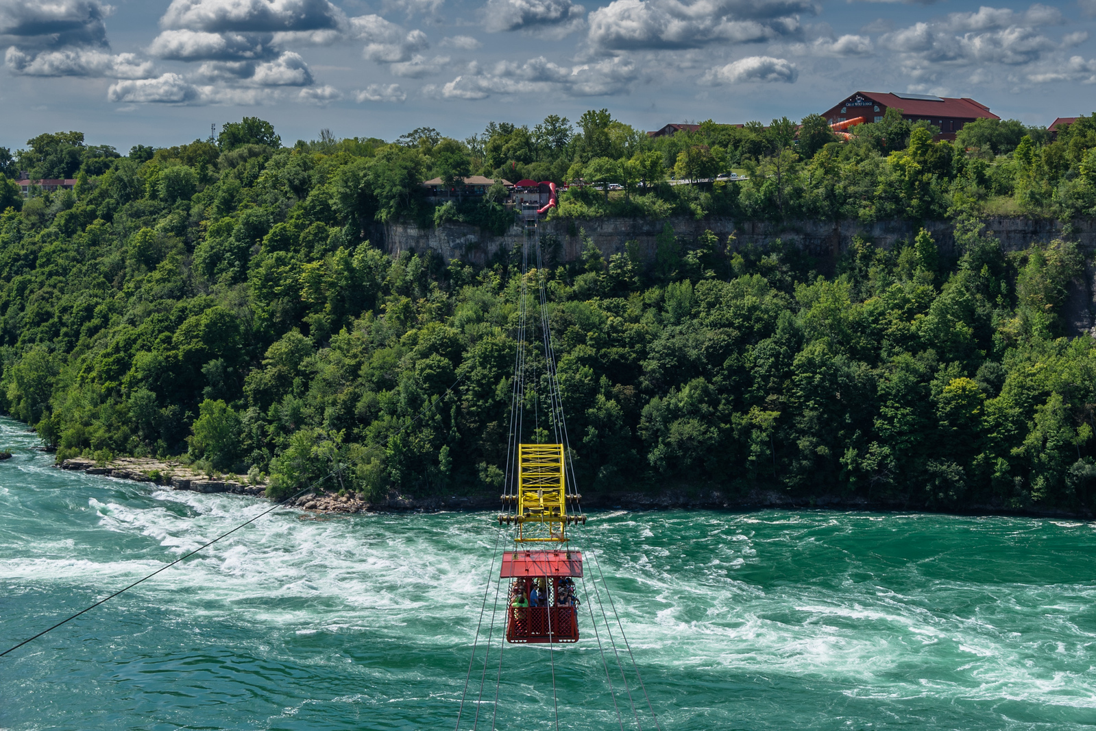 Niagara Falls Road Trip stop #10: The Whirlpool Gorge