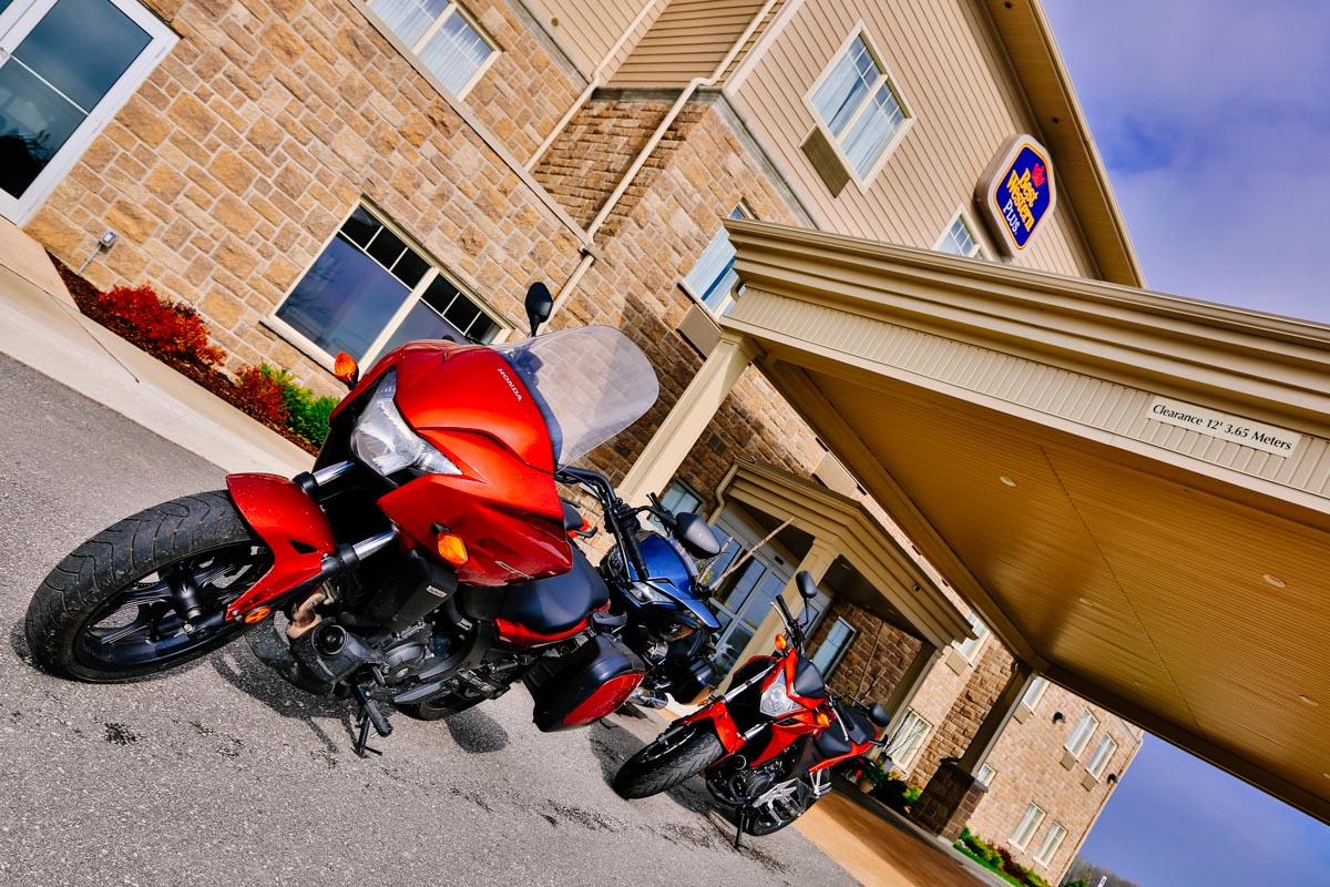 Great hotel the Best Western in Walkerton, Ontario