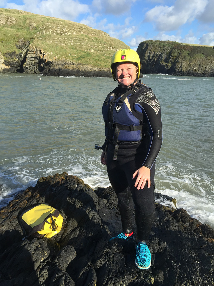 Coasteering is all about fashion!