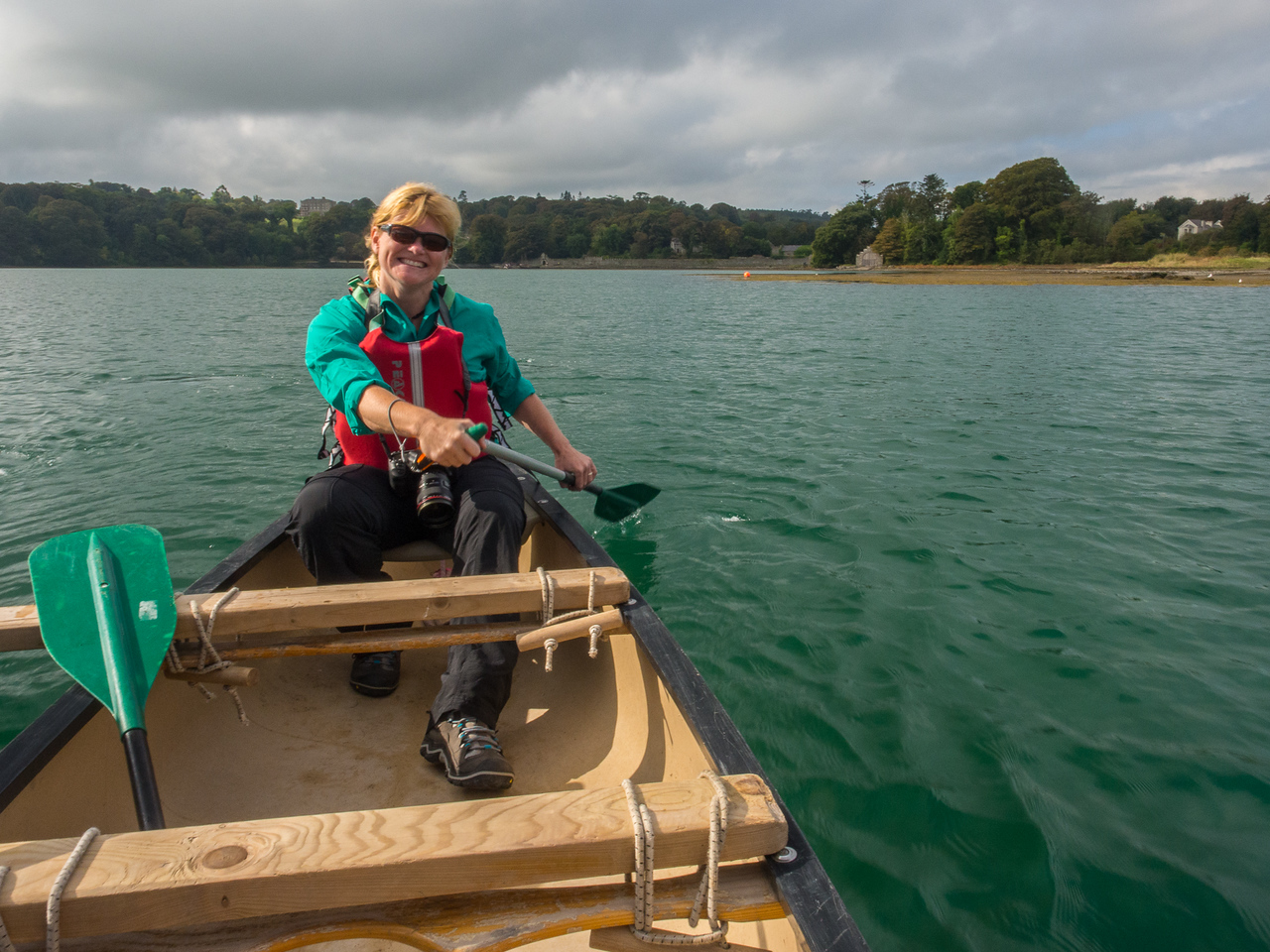 Deb Canoeing in Northern Ireland