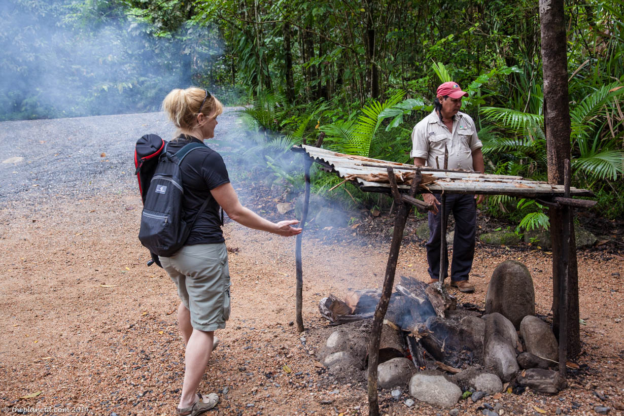 Traditional Smoking Ceremony in the Daintree Forest
