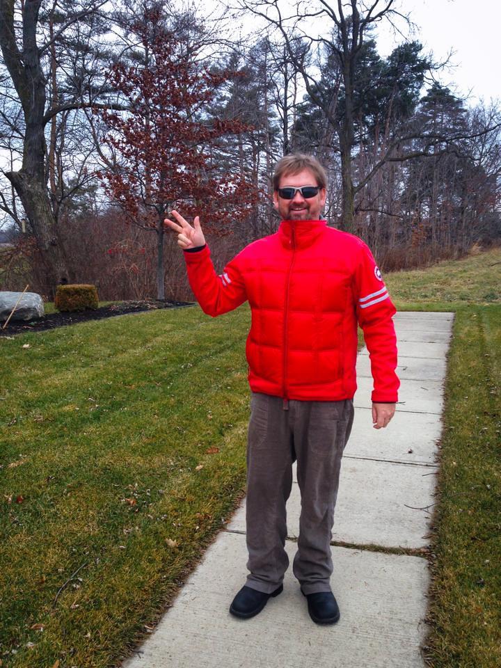 Dave walking after injury