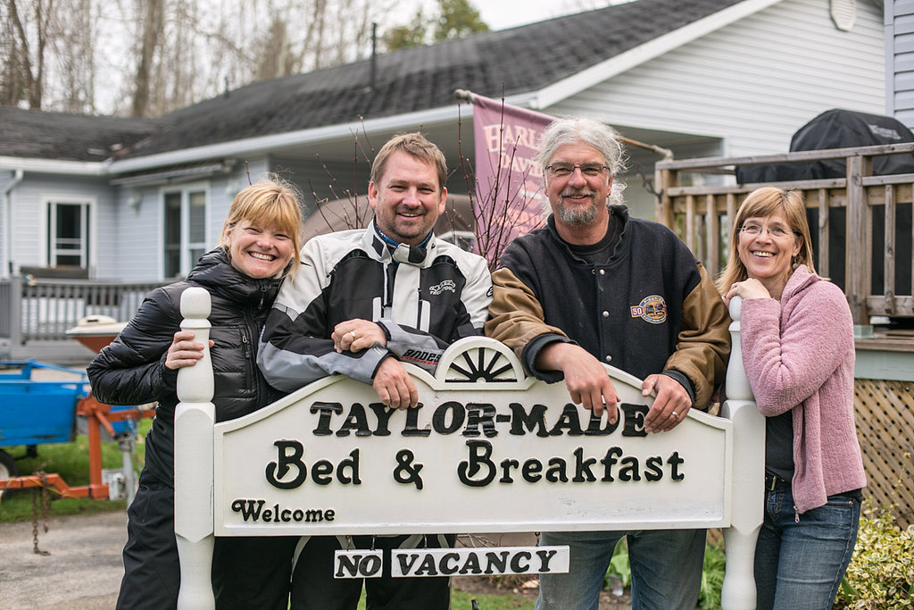 Barb and Dave from Taylor-Made Bed and Breakfast in Lions Head, Ontario