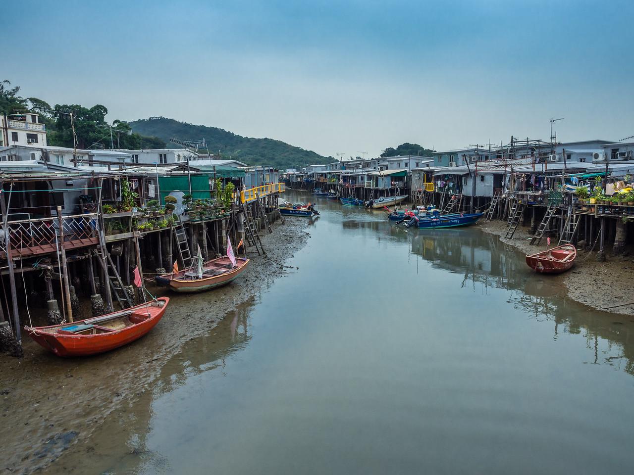 The impressive stilt houses of Tai-O