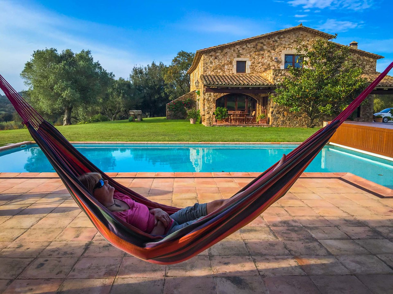 Relaxing in our Luxury Villa in spain