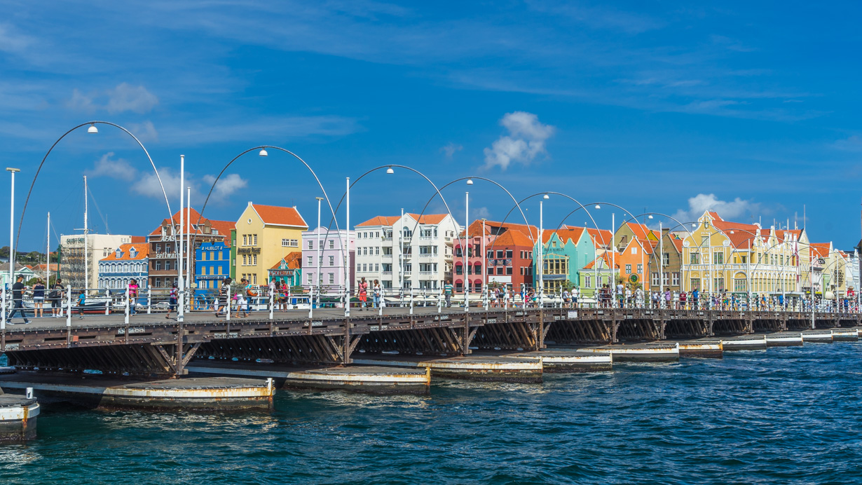 The Colourful city of Curacao