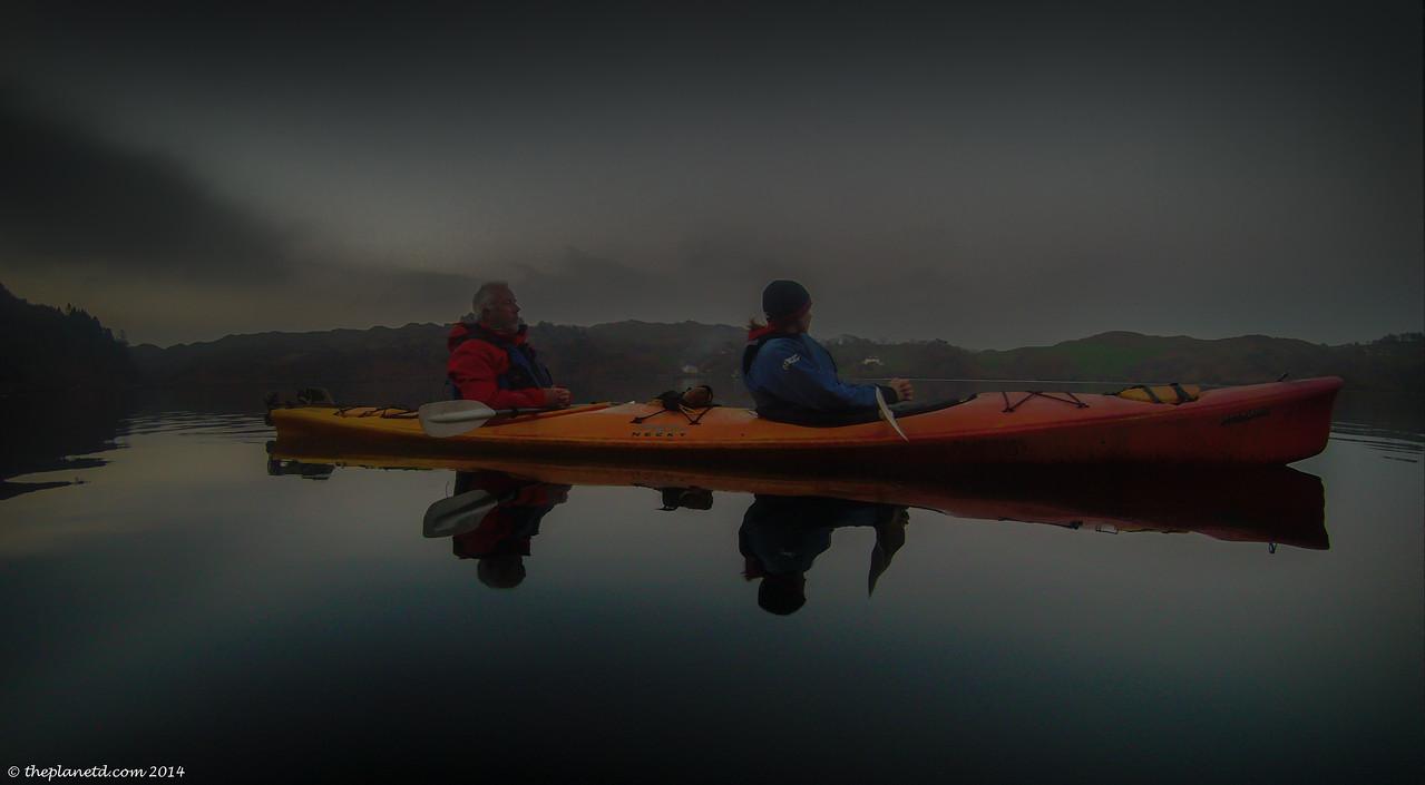 things to do in ireland, kayaking at night.