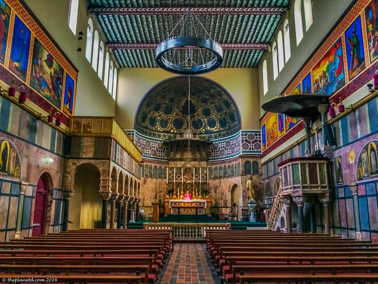 The beauty of the Newman University Church, Dublin.