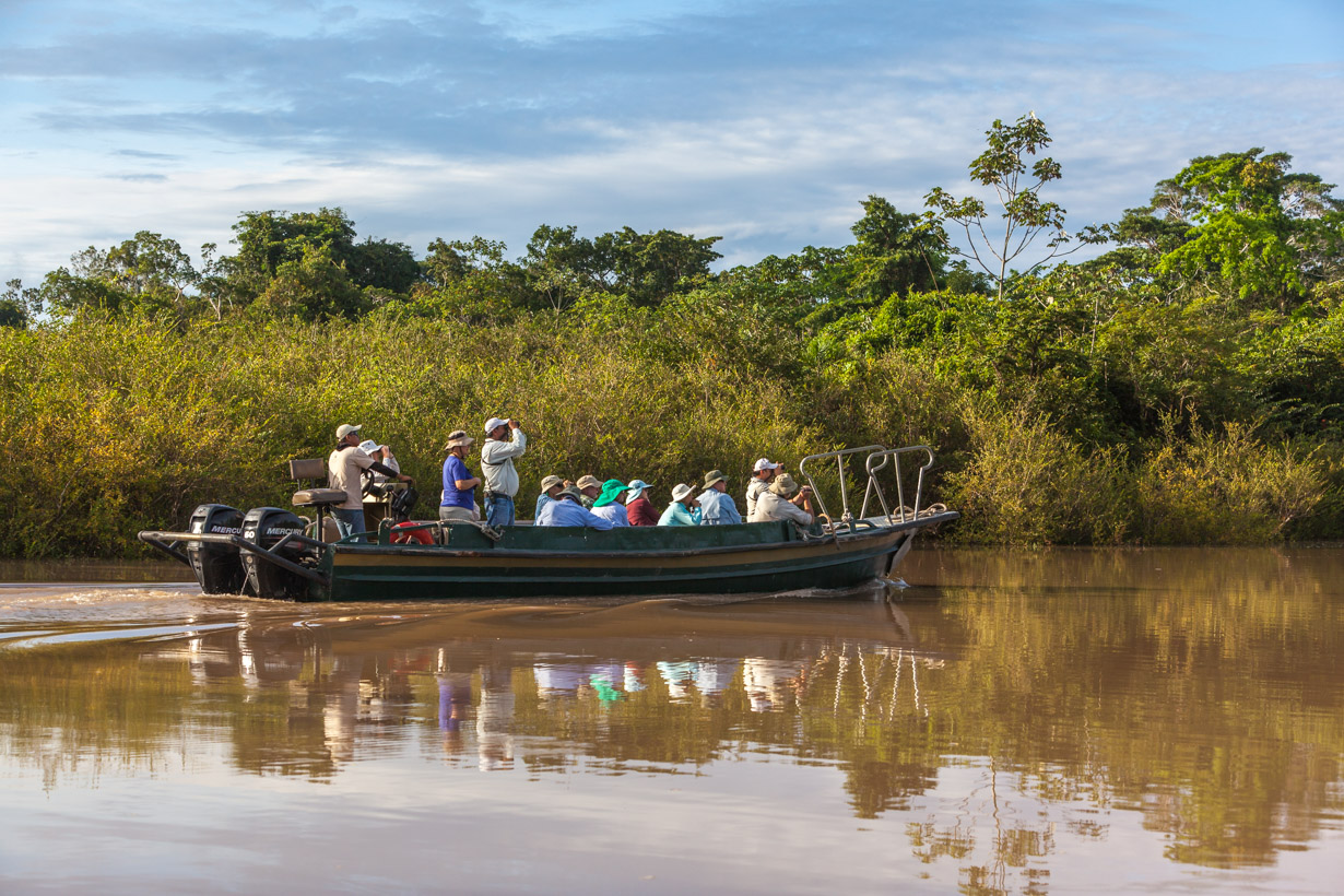 Exploring the Amazon on your Skiff Boat.