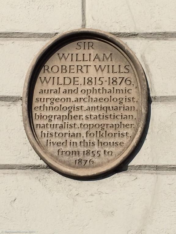 things to do in Dublin - The home of Oscar Wilde in Dublin.