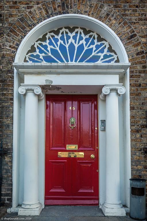 The Painted Doors of Dublin, Ireland