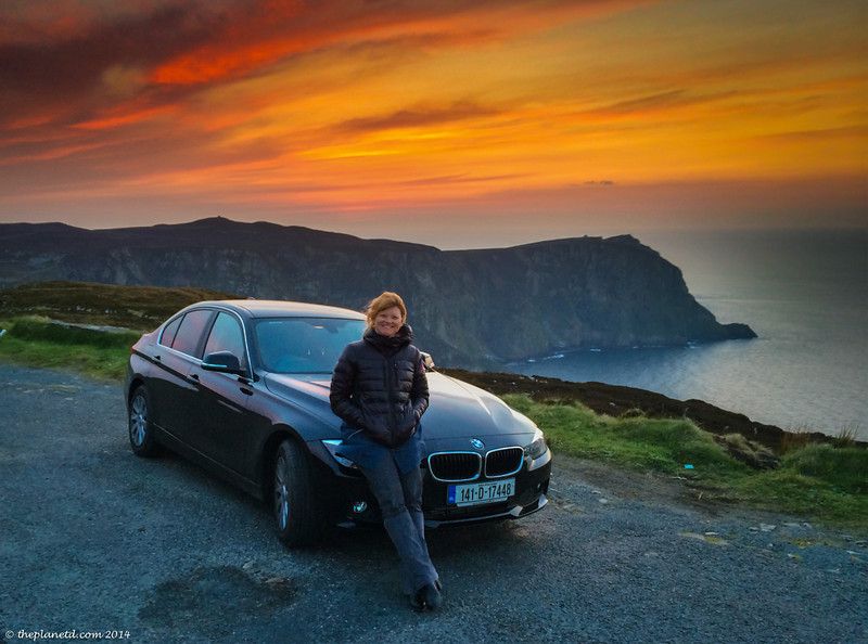 Chillin with the BMW on the Wild Atlantic Way.