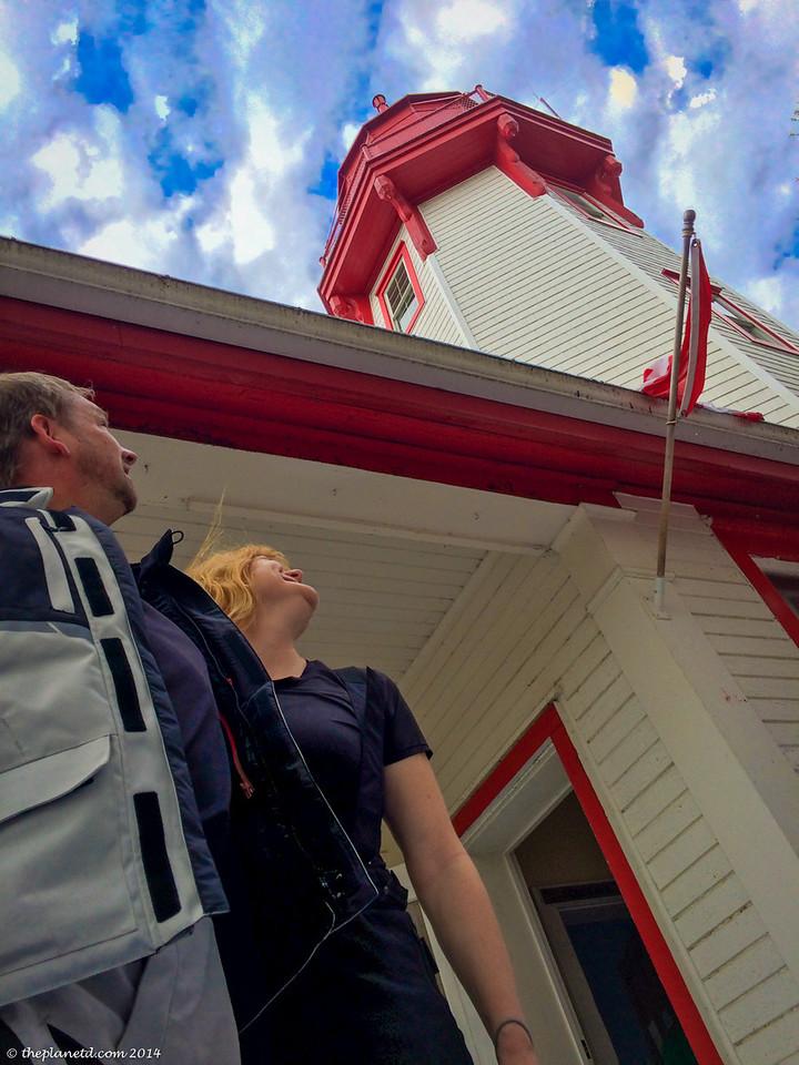 The Kincardine Lighthouse in Bruce County