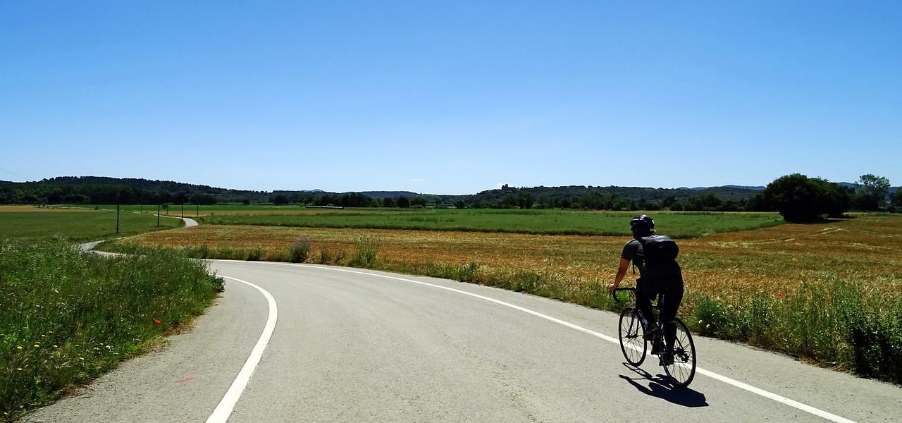 lone cyclist girona