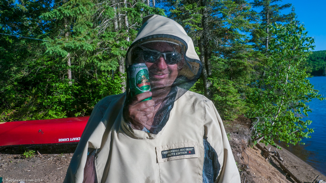 The original Bug Jacket was a saviour during June in Algonquin Park.