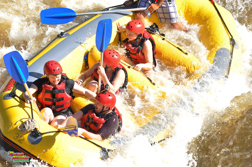 Queensland White Water Rafting