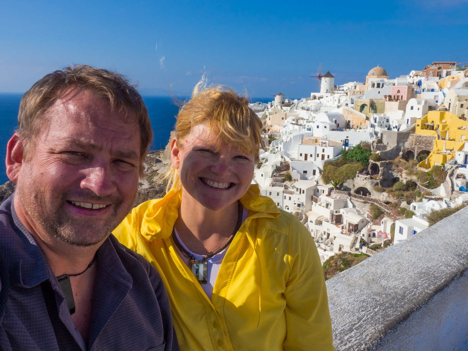 Santorini was made for couples.