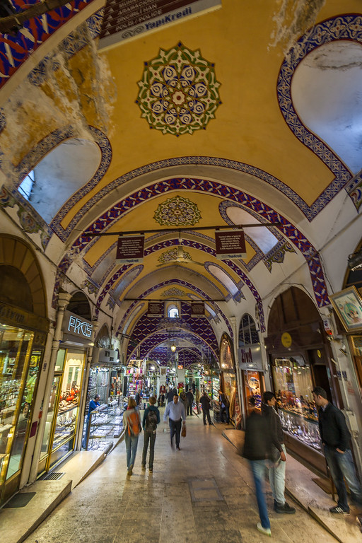 Grand Bazaar interior Istanbul