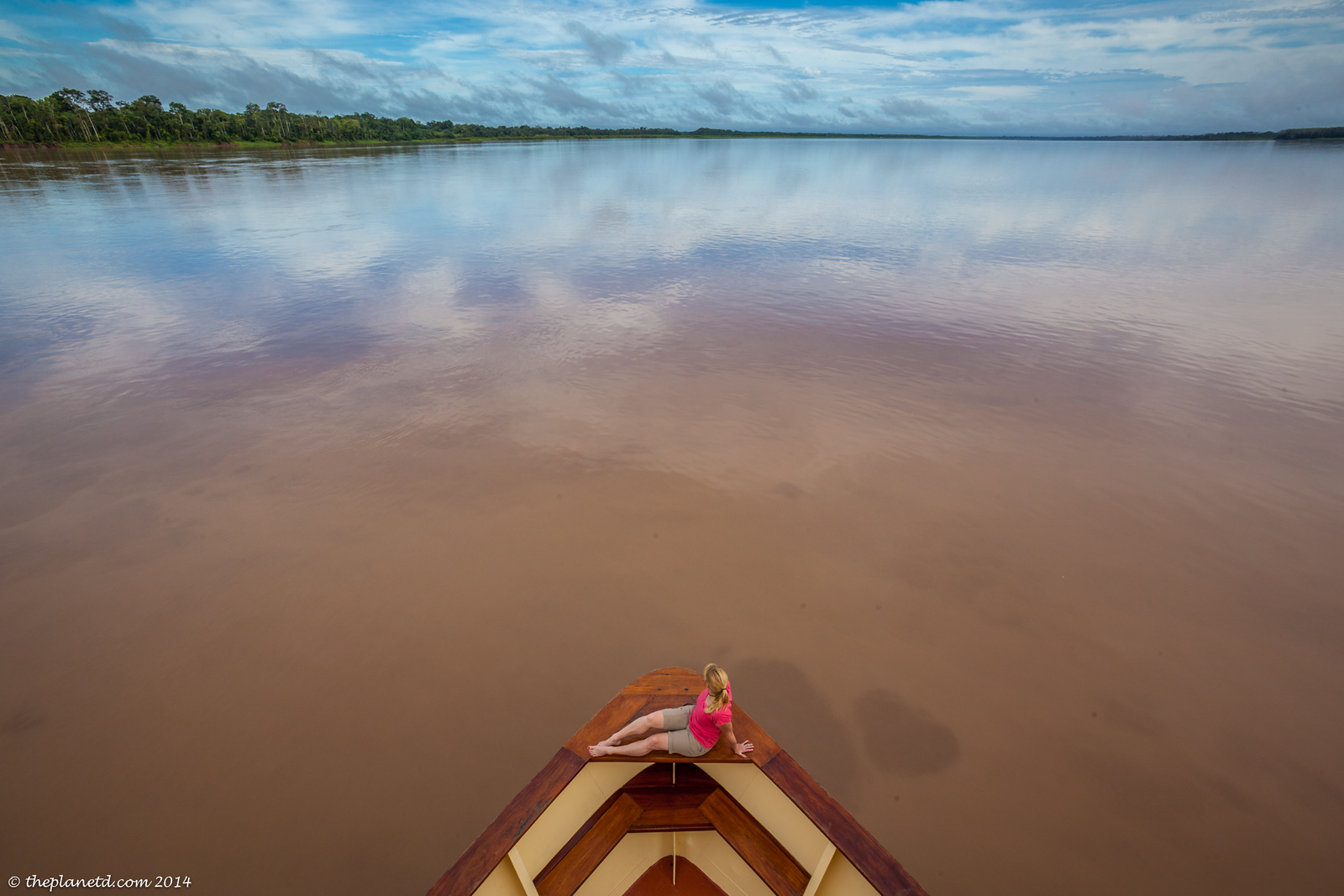 An epic view of the Amazon.