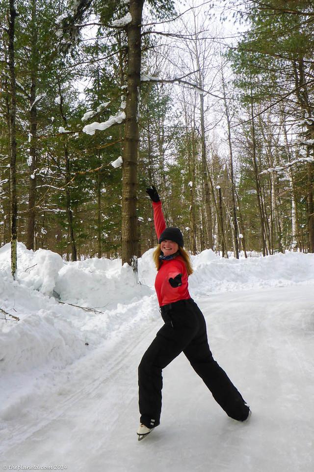 Ice Trail at Arrowhead Provincial Park