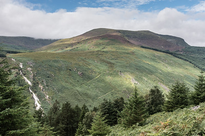 """Glenmalure Valley and """"The Zig Zags"""""""