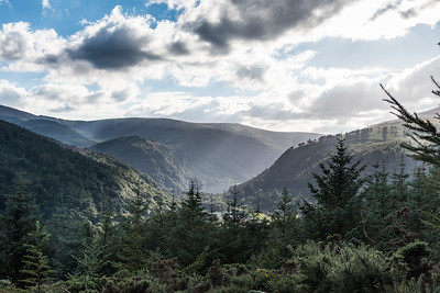 "Glendalough -""Glen of the Two Lakes"""