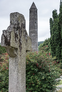 St. Kevin's Cross and Round Tower