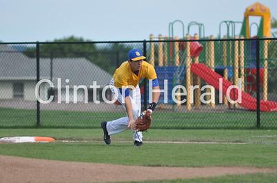 Davenport North at Clinton baseball (6-18-15)