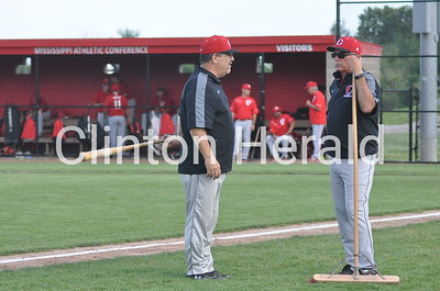Davenport West at Clinton baseball (7-15-15)