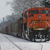 Coal train heading north into BC....
