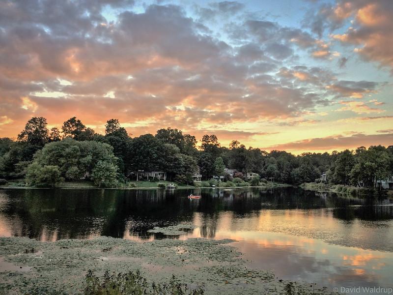 Lake Newport Sunset