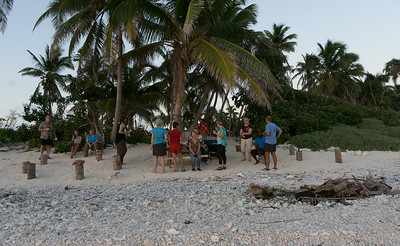 baech party, Half Moon Caye