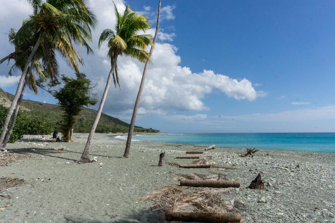 beach near Cajobabo