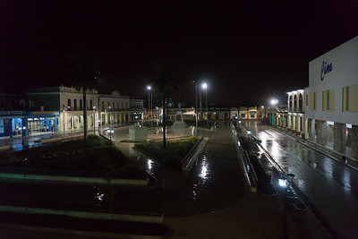 Parque Cespedes Bayamo at night.ARW