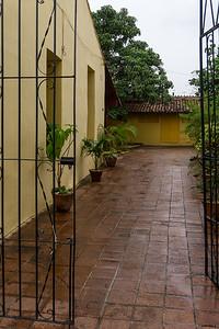 Courtyard in Camaguey]
