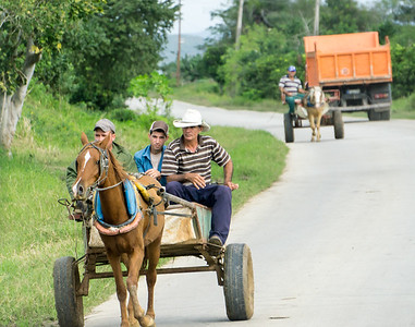 Horse and cart, Holguin.ARW