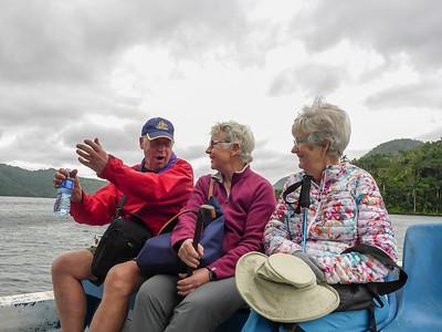 Boat Cruise on lake,  el Salto de Hanabanilla