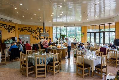 Villa Granjita breakfast buffet