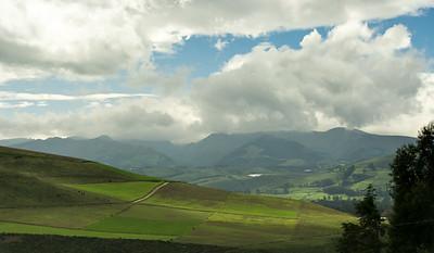 landscape near Quito, Ecuador