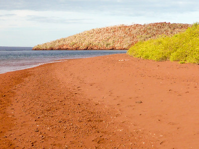 Red sand beach, Isla Rabida