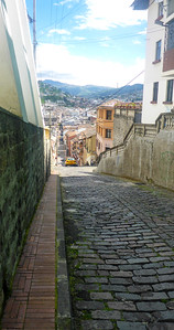 Old City street Quito