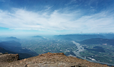 Chilliwack from Mount Cheam