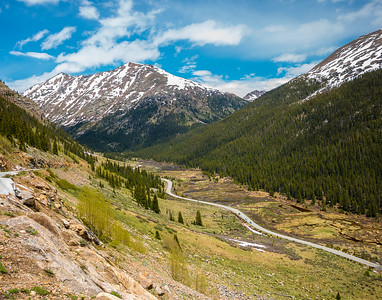 Descent from Independence Pass