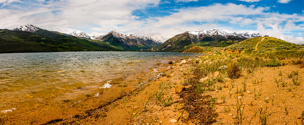 Mount Elbert from Twin Lakes