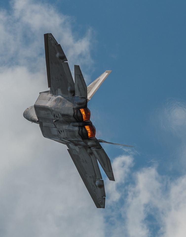 F-22 Raptor Afterburners
