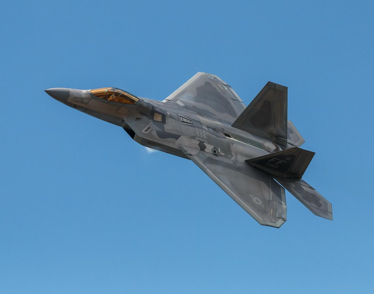 F-22 Cockpit View