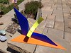 Sundial, painted steel