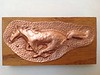 My favorite repousse inspired by a mustang logo.