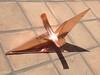 Pre patina copper sundial component